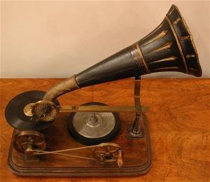Berliner &ere machine a disque 1890