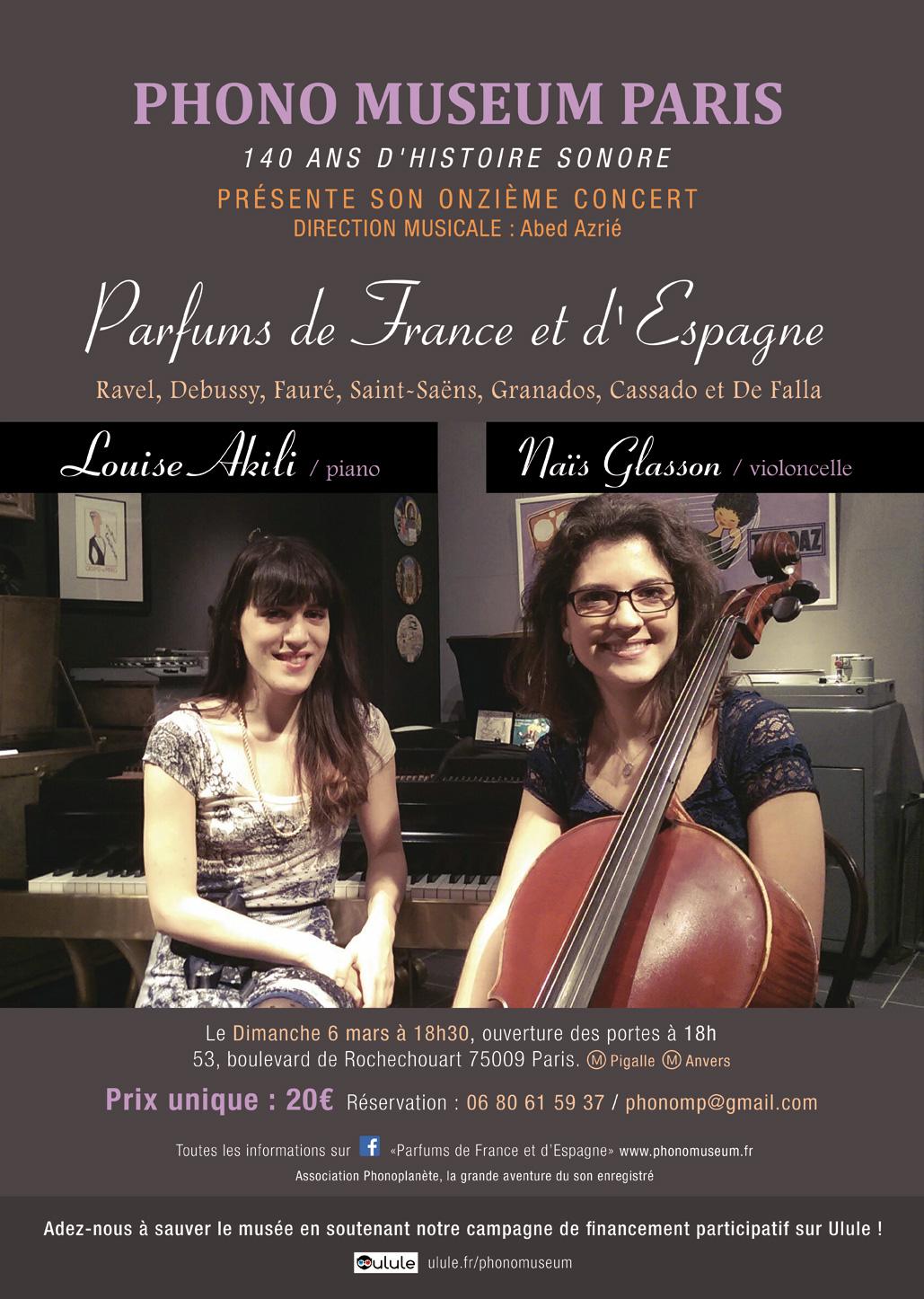 Concert le 6 Mars 2016