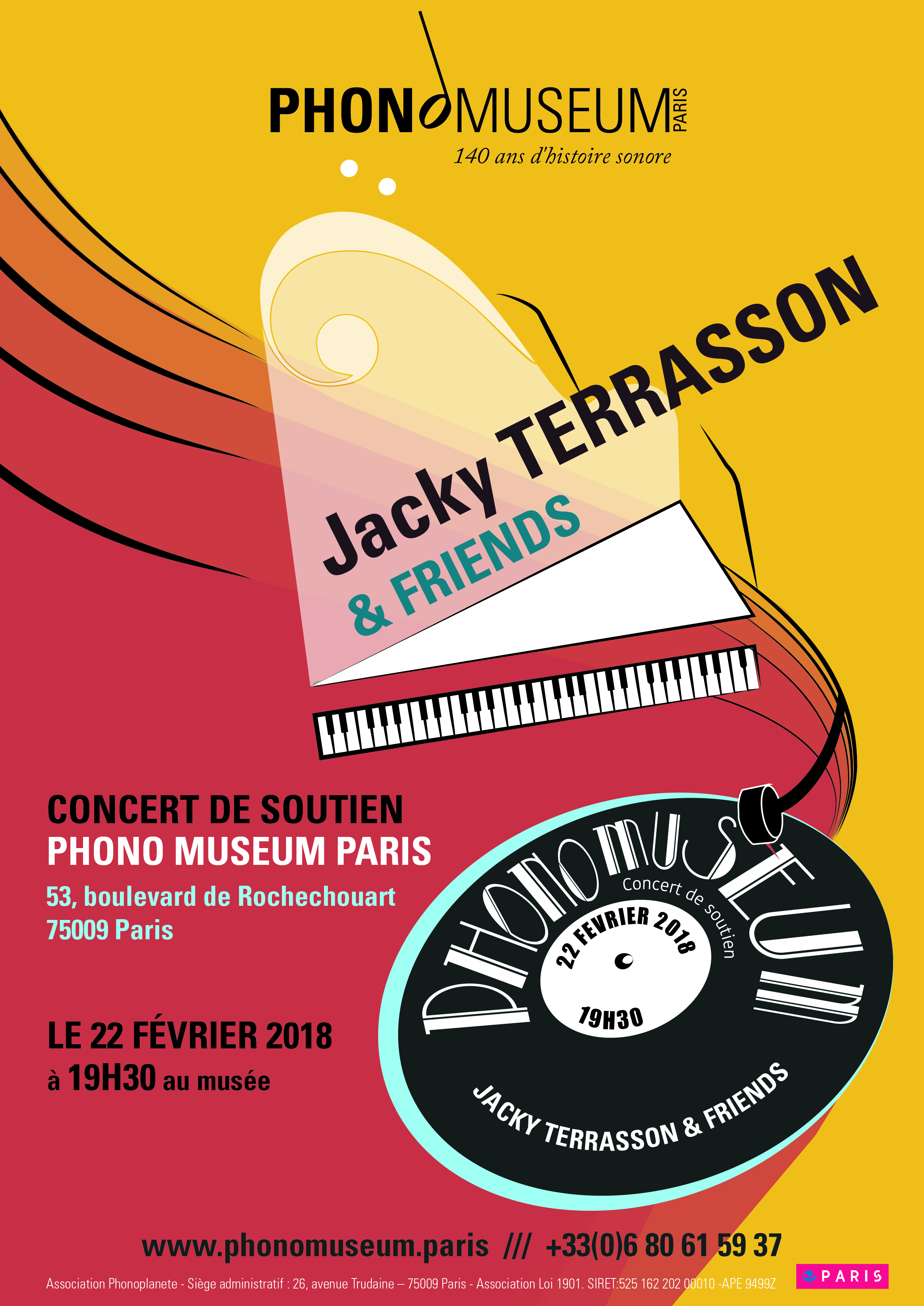 concert de soutien Jacky Terrasson