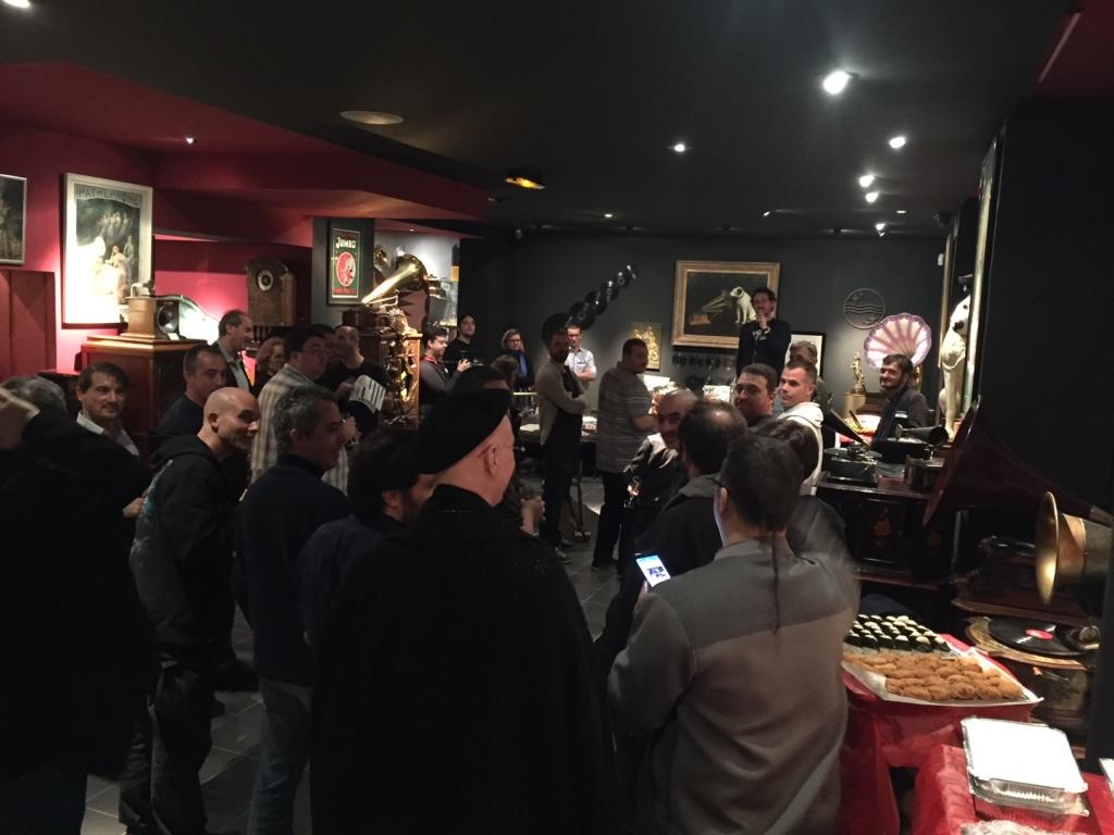Une soirée au Phono Museum Paris