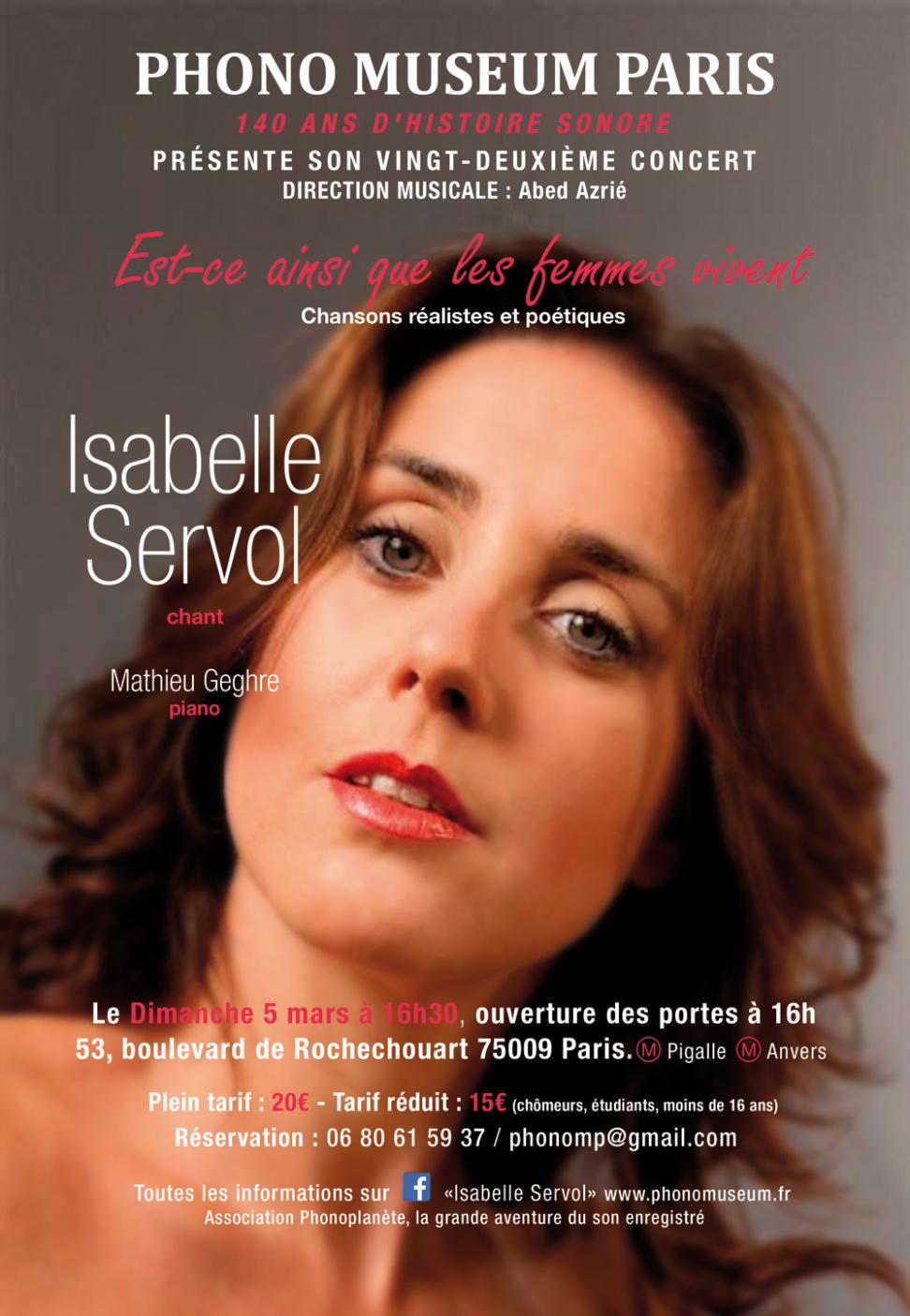 Isabelle Servol
